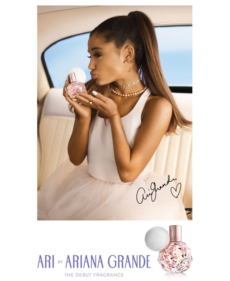 Receive a Complimentary Autographed Poster by Ariana Grande with any $100 Ariana…