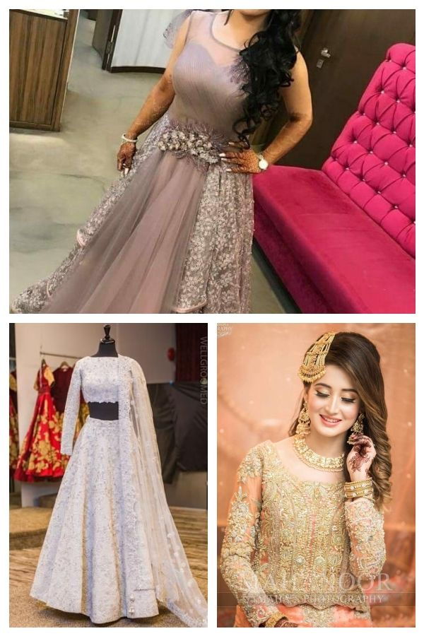 17 Devastatingly Cool Indian Hairstyles Anarkali Bridal Lehenga Frisurenfrindischehochzeit Hairstylesforindi Anarkali Bridal Indian Hairstyles Bridal Lehenga