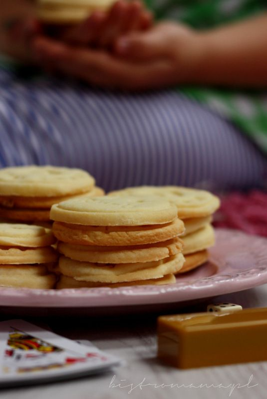 bistro mama: Ciastka cytrynowo-maślane (idealne do stempelków)
