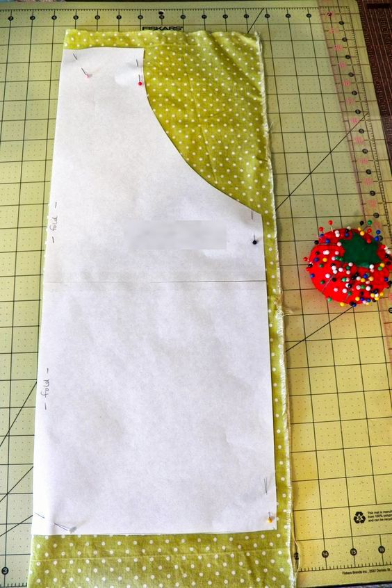 corte de la tela para delantal | costura | Sewing, Sewing Projects y ...