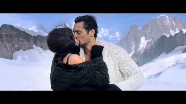 David Gandy & Bianca Balti para Dolce & Gabbana Light Blue Winter 2016