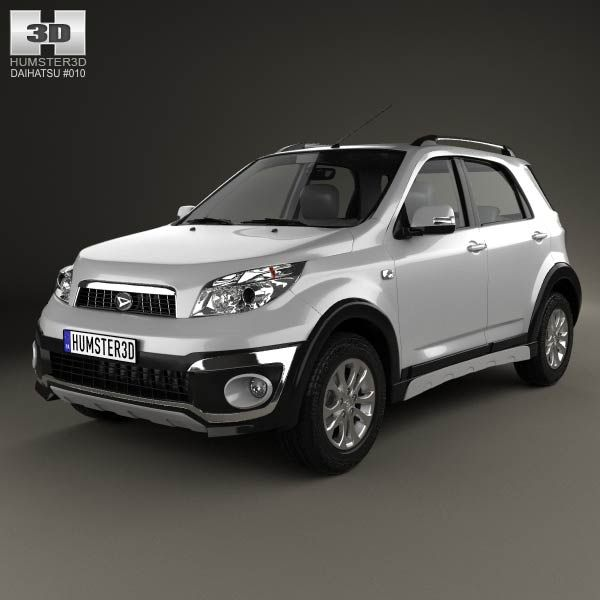 Daihatsu Terios 2013 3d model from humster3d.com. Price: $75