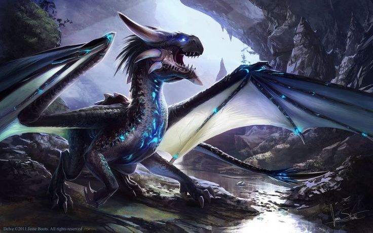 Delve Dragon by jameswolf Dragon Dungeon has become a Dragon Mansion thanks to all of you followers! There is an extension of Dragon Dungeon called the Dragon Gallery which post twenty four dragons a...