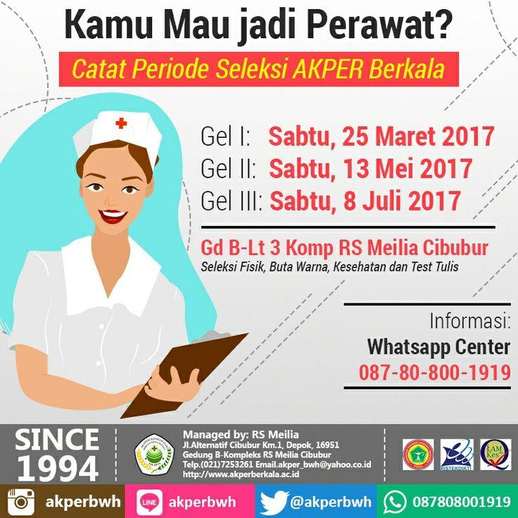 Catat periode seleksi di AKPER BERKALA • • #akper #akademi #keperawatan #akperberkala #cibubur #depok #cileungsi #bekasi #bogor #tangerang #jakarta #indonesia #mahasiswa #kampus #kuliah #perawat #nakes #nurse #profesi