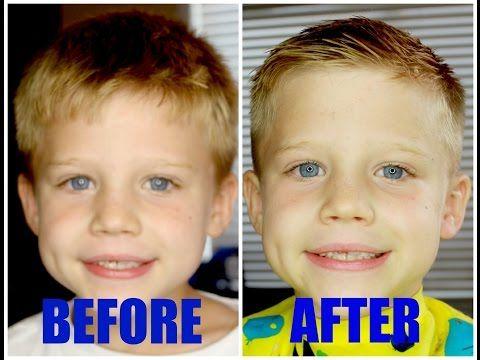 HOW TO: Cut Boys Hair!! - YouTube