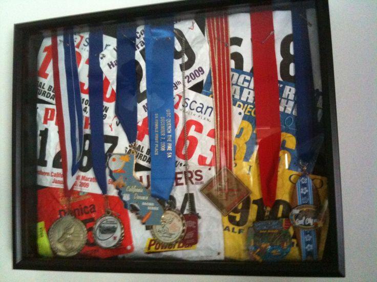 25 best shadowbox ideas on pinterest shadow frame for Ideas para colgar medallas