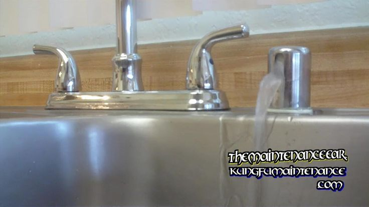Kung Fu Maintenance demonstrates how to stop dishwasher from leaking water from sink counter top air gap when running plus draining. Buy The Kung Fu Maintena...