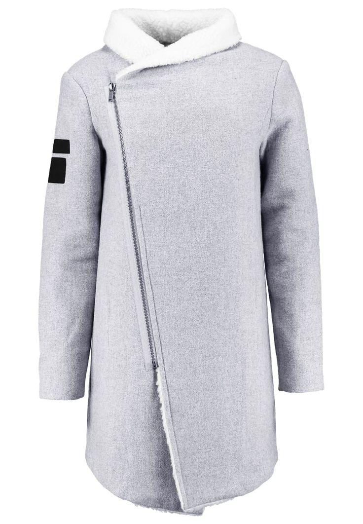 Black Kaviar KONYE Krótki płaszcz grey