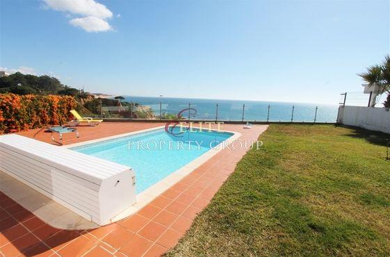 vente maison vue mer olhos de gua portugal portugal immo bord de mer. Black Bedroom Furniture Sets. Home Design Ideas
