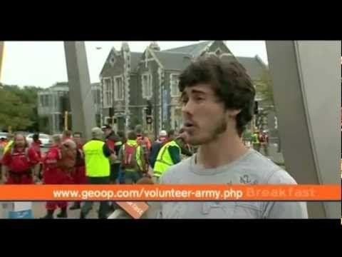 GeoOp - Student Volunteer Army / Christchurch Earthquake - YouTube