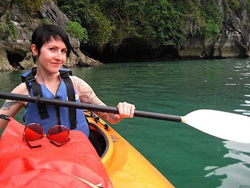Kayaking Lan Ha Bay offers a private cruising & kayaking trip in Lan Ha Bay, where it is famous for serene waters in southern end of Halong archipelago.