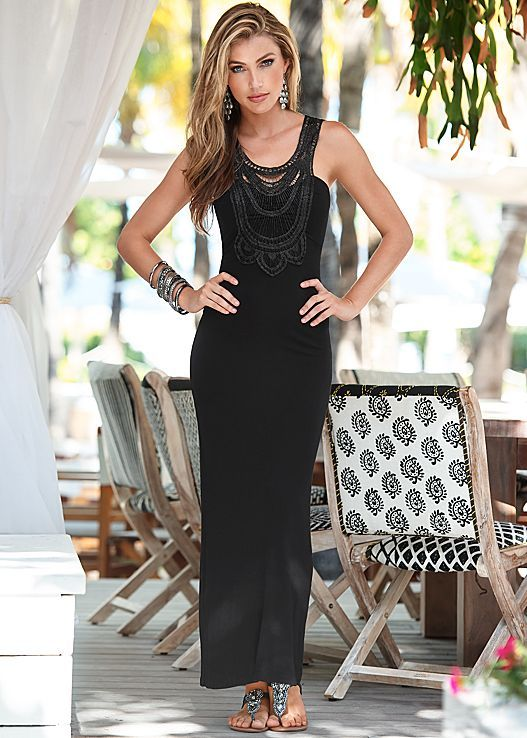 Summer dress maxi yacht