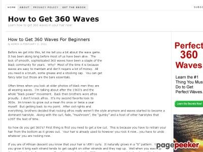 1000 ideas about 360 waves on pinterest. Black Bedroom Furniture Sets. Home Design Ideas