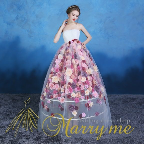 A86009 | 大阪・堀江のウェディングドレス、カラードレス販売店【Marry me(マリーミー)】