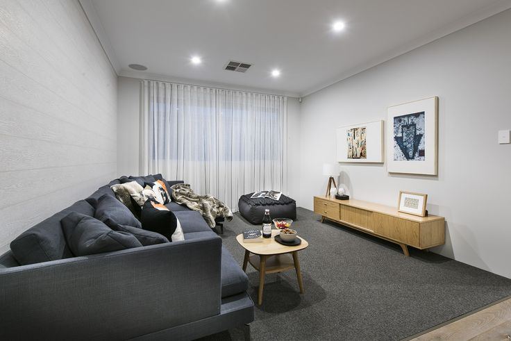 Theatre - -	Stockman Display Home - Homebuyers Centre - Ellenbrook, WA Australia