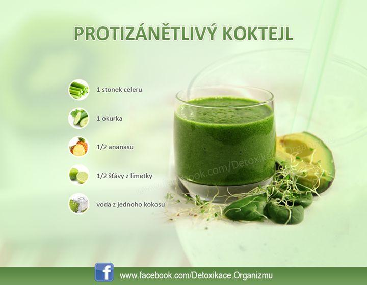 protizápalový nápoj