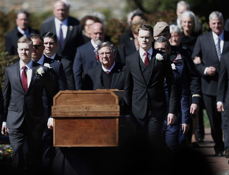Trump, Pence and many evangelical leaders mourn Billy Graham at his funeral - The Washington Post