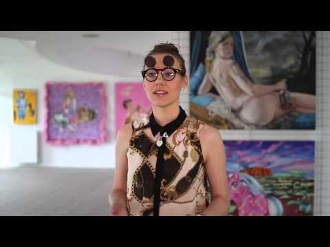 Youtube/ film promocyjny dla Art Pistols Galeria/ Justyna Kisielewicz- Kto jest Twoim idolem?