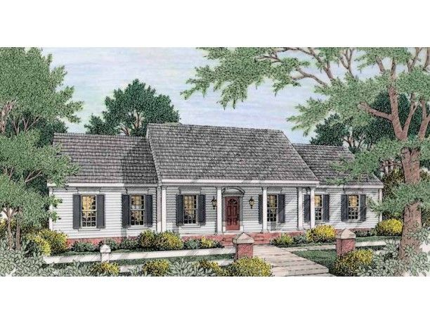 Cape Style Home Plans
