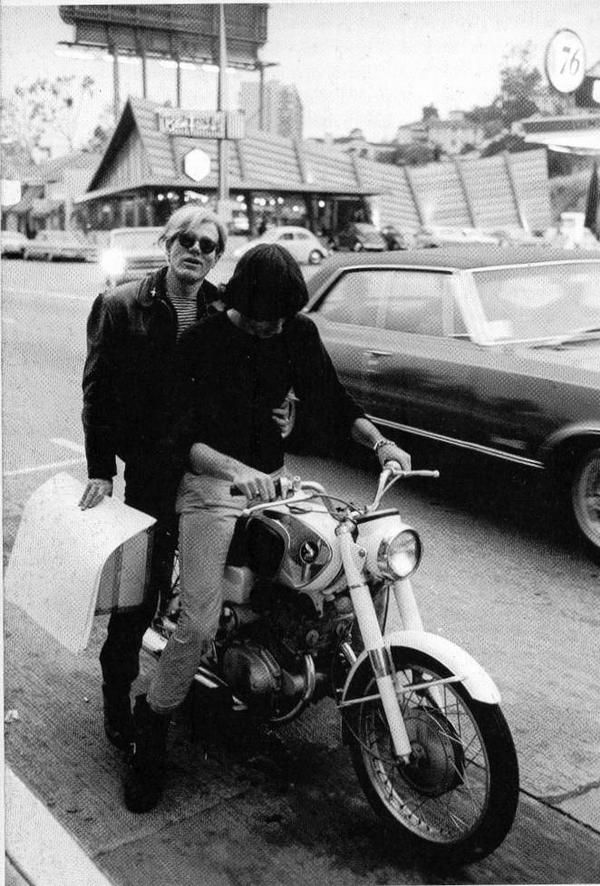 Andy Warhol & Sterling Morrison