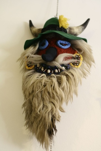 Romanian traditional mask