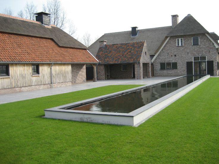 raised garden rill - Impressies van de moderne tuinen van Dick Beijer | STUDIO VOOR TUINKUNST