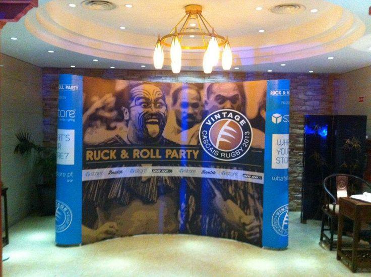 Cascais Rugby 2013 #whatstore #decoração #display #popup #impressãodigital #design #comunicação #cascais