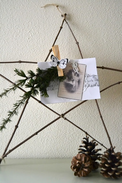 Cream Life: Waiting for Christmas: a simple star