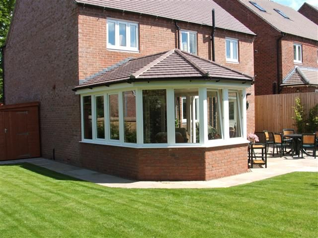 conservatories with tiled roof - Google Search