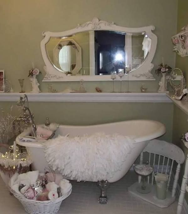 Shabby Chic Bathrooms Ideas: 17 Best Images About Bathroom, Rustic Or Countrified On