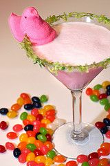 1 1/2 ounces of cherry vodka  1/2 ounce of triple sec  3 ounces of half & half or milk  dash grenadine