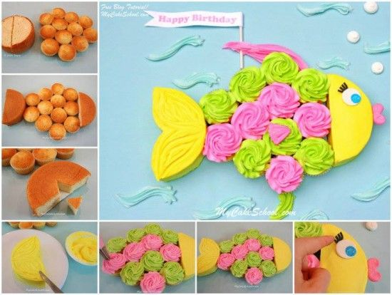 Fish Cupcakes Are Super Easy To Make | The WHOot
