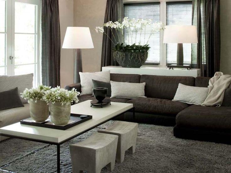 mooie strakke kamer, met een klassieke kleurstelling