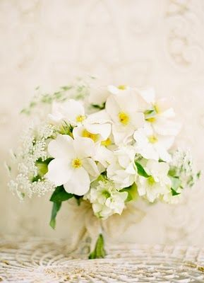 Crisp spring wedding bouquet: #wedding #bouquet #white: www.josevillablog.com www.flowerwilddesigns.com