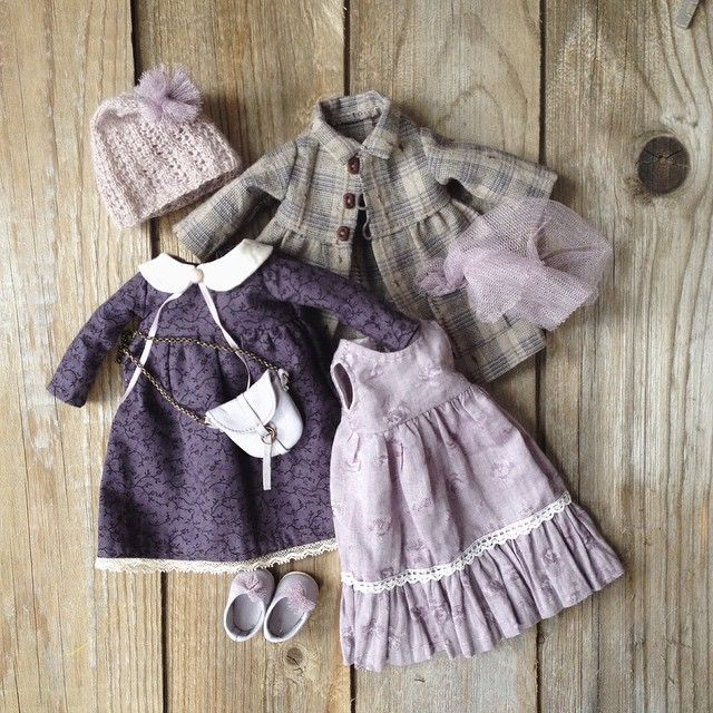 Doll clothes for sale. Pinned for inspiration. Like the colors.