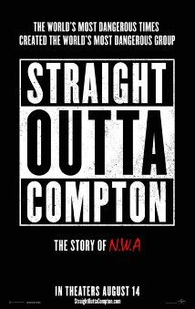 Straight Outta Compton. About the group NWA. Directed by F. Gary Gray. 2015