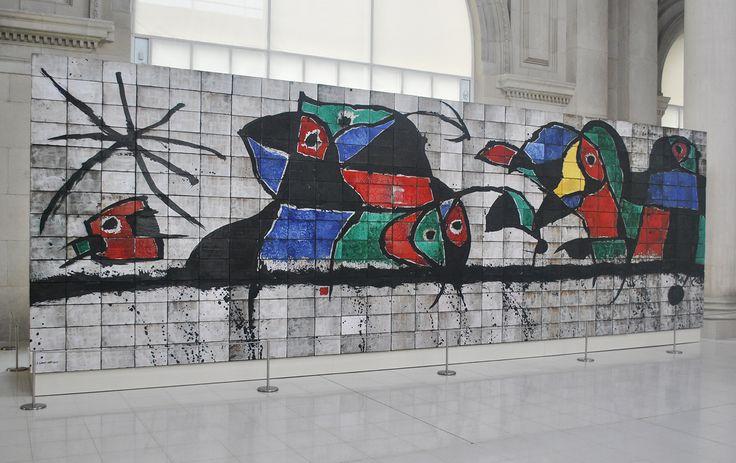 Barcelona, Joan Miró.