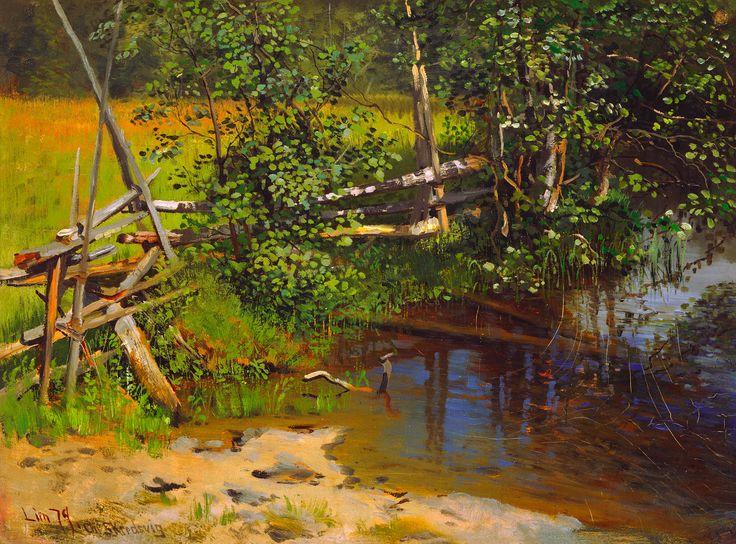 Christian Skredsvig, «The Tarn»