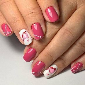 I just love these nails! ❤