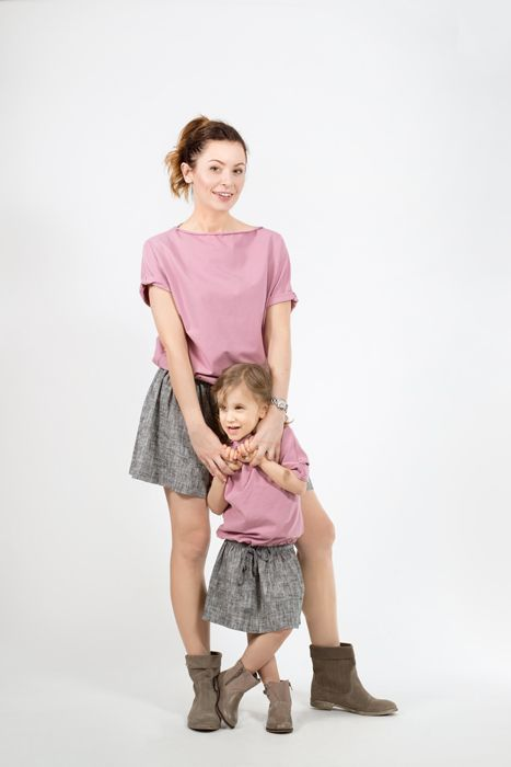 Mom and daughter matching set, price: 150 EUR
