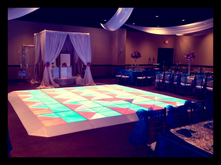 led dance floor illuminated dance floor houston party rentals