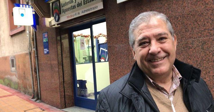 Lotería de Navidad | El cuarto premio deja 200.000 euros vendidos en Juntas Generales 18