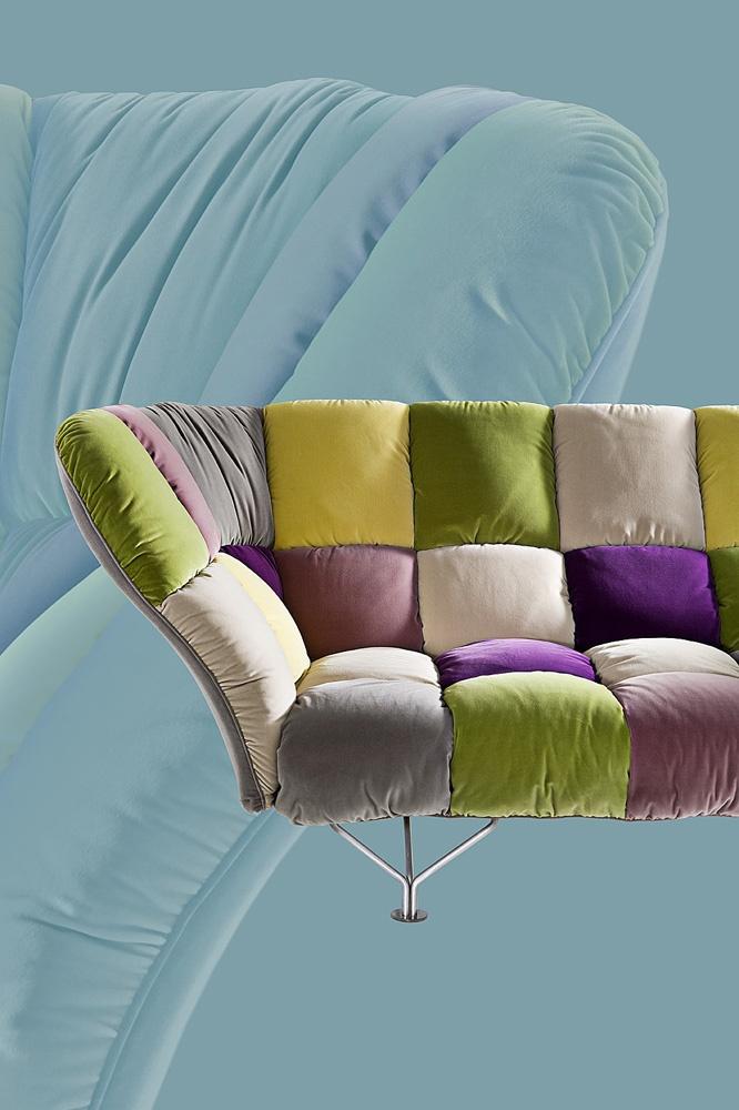 33 Cuscini - sofa by Paolo Rizzatto