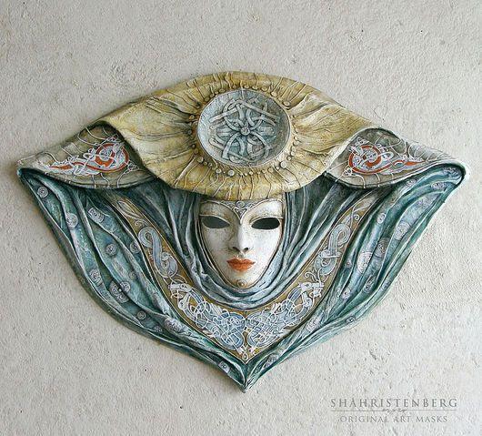 Интерьерные маски ручной работы. Aisling Song (интерьерная маска). Надежда Шахристенберг