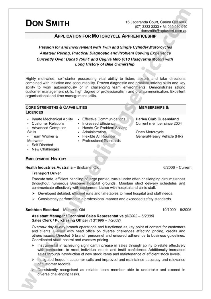 IT Graduate Resume Template Melbourne Resumes Resume Examples Qld
