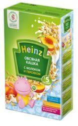 Хайнц кашка овсяная с персиком и молоком с 5 мес 250г  — 138р. - Овес содержит антиоксиданты, которые повышают иммунитет малыша, стимулирует обменные процессы в организме. Овсяная каша благоприятно влияет на желудочно-кишечный тракт, имеет обволакивающее действие.    Добавление фруктов вдетские кашки Heinz позволяет увеличить питательную ценность продукта иразнообразить вкус кашек.     Продукт дополнительно обогащен пребиотиками…