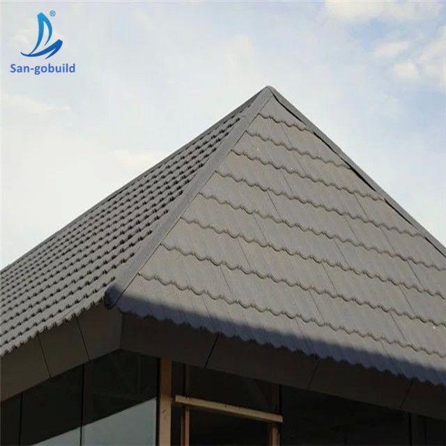 Africa Popular Zinc Roof Shingle Zimbabwe Home Stone Coated Aluminium Type Roof Tiles Sangbuild Stonecoatedmetalrooft Zinc Roof Aluminum Roof Roof Shingles