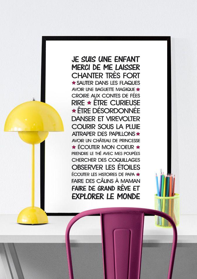 Affiche Vie Denfant Texte Tlcharger Affiches