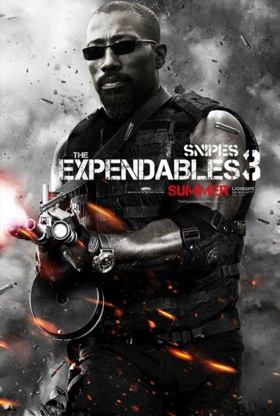 Watch 'Expendables 3' Teaser + Check Out Wesley Snipes' Bad-Ass Character Poster | Shadow and Act