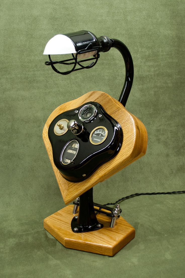 Moto Lamp: 1928-1931 Model A Ford, Vintage Automotive Desk Lamp. Upcycled and Recycled by Slidewaysdesigns on Etsy https://www.etsy.com/listing/234948091/moto-lamp-1928-1931-model-a-ford-vintage
